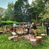 Une météo très clémente encore pour ce week-end off! On a même eu droit à un beau ciel étoilé ! #bbq #bushcraft #randonnée #vanlife #vanlifefrance #nature #outtrip #outdoor #petromax #camping #camperlife #barbecue #bivouac #homecamper #metz #moselletourisme